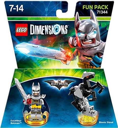 Lego Dimensions Fun Pack Excalibur Batman Movie Fun Pack 71344 -