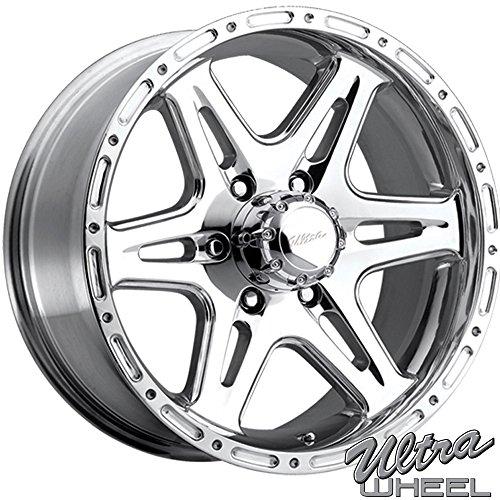 Amazon Com Ultra 208p Badlands 17x9 6x139 7 12mm Polished Wheel