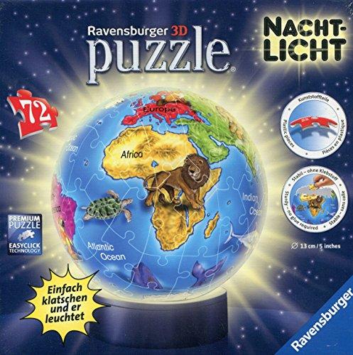 Ravensburger 12142 - Kindererde - Nachtlicht puzzleball, 72 Teile