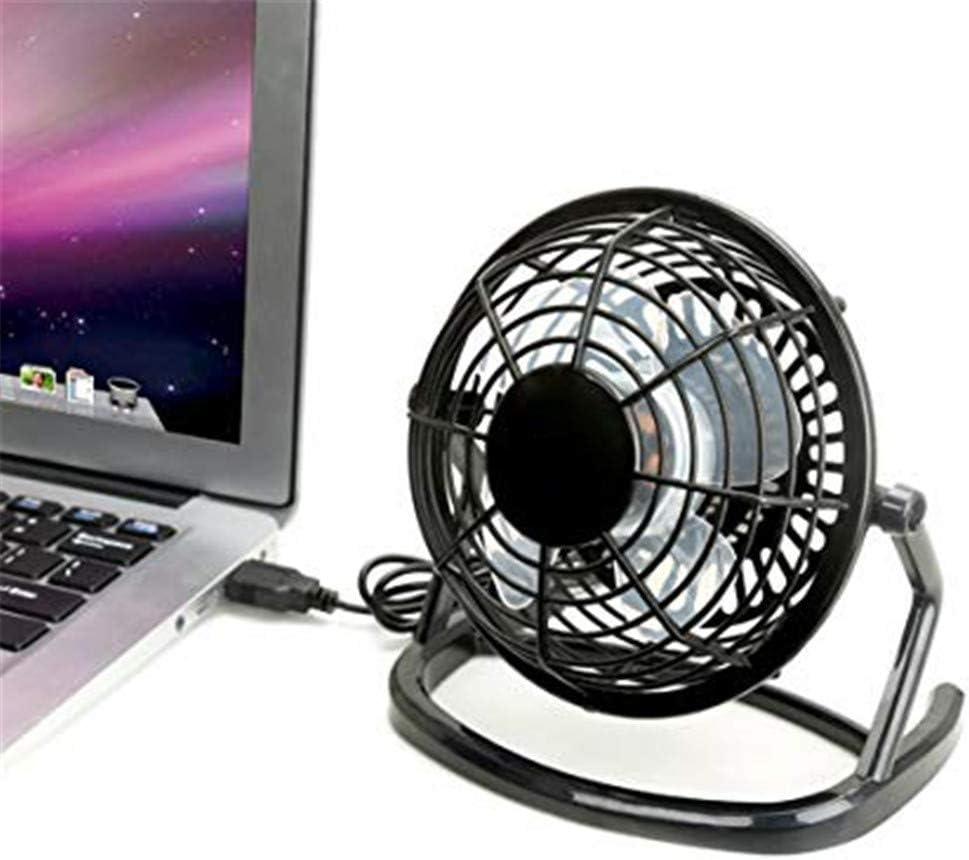Black Pc Computer Notebook MAMASAM USB Desktop Mini Fan Portable Office Fan 360 Rotation Adjustment