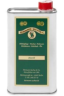 Hermann Sachse Holzöl Farblos Für Innen 1liter Natur Hartöl Pflegeöl