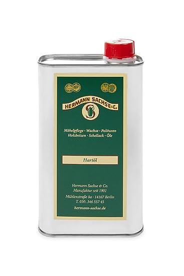 Holzöl Hartöl farblos für innen 500ml Natur Möbelpflegeöl für Tisch ...