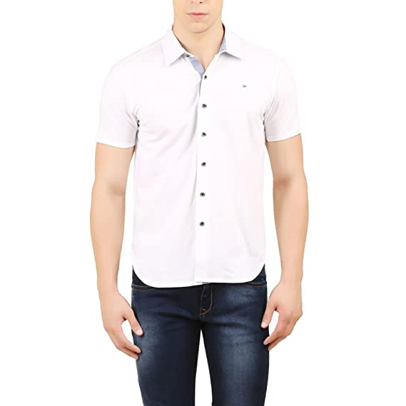c842a88efba Design Classics Men s Cotton Casual Shirt  Amazon.in  Clothing   Accessories