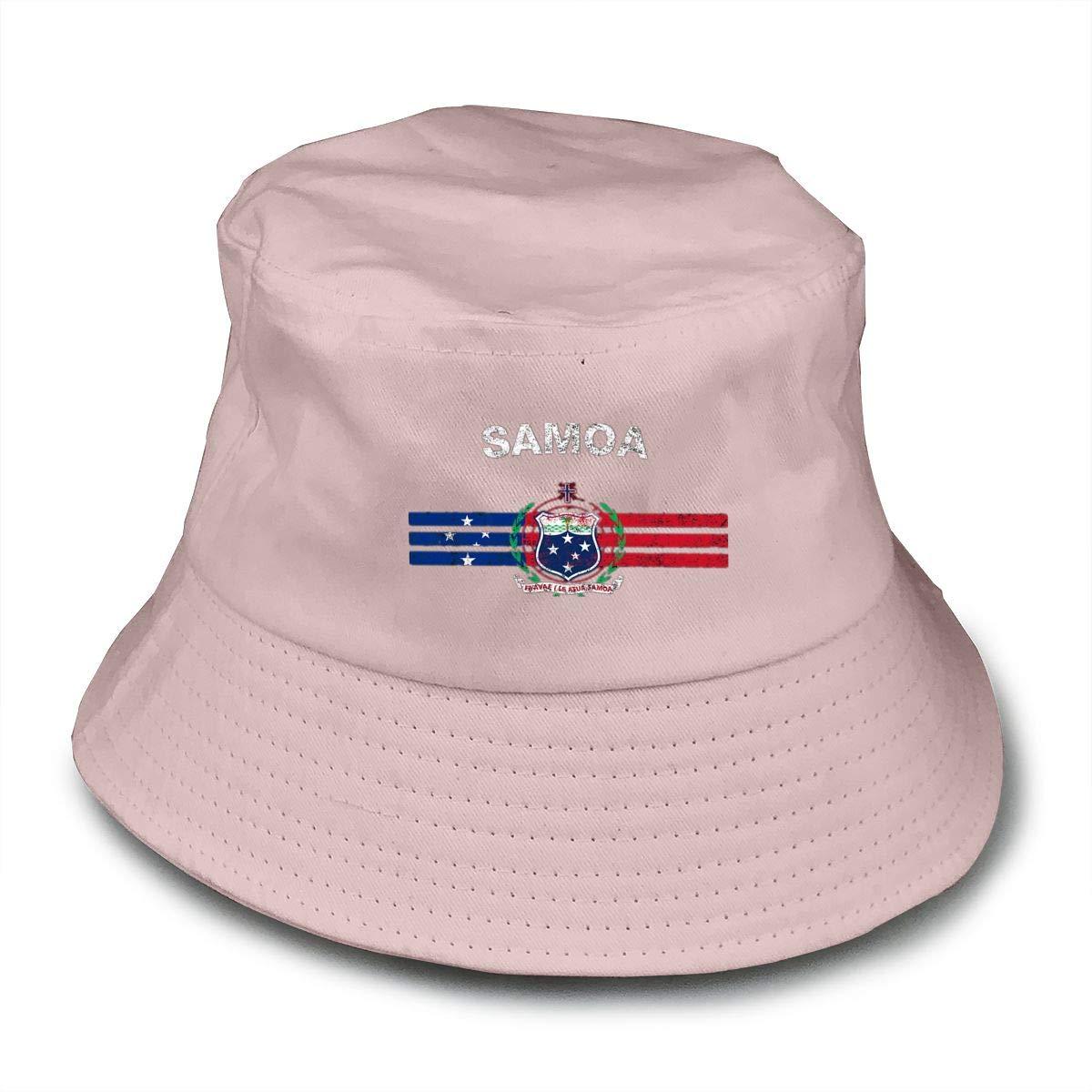 NDFGR Turkemenistan Unisex Cotton Packable Black Travel Bucket Hat Fishing Cap