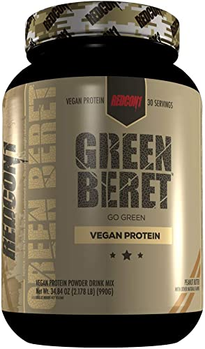 REDCON1 Green Beret Vegan Protein – Peanut Butter