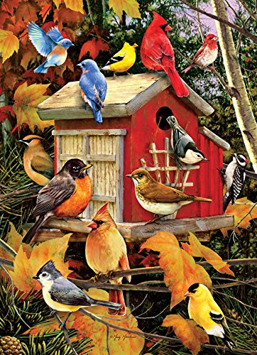 - Fall Birds 1000 Piece Animals & Wildlife Jigsaw Puzzle
