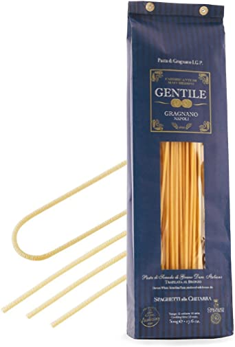 Pastificio Gentile - Pasta de Gragnano Guitarra 500g: Amazon.es ...