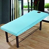 2PCS massaggio lenzuolo con foro per il viso universale bellezza letto angoli elasticizzati Couch cover Breath morbido spa per salone di bellezza del viso