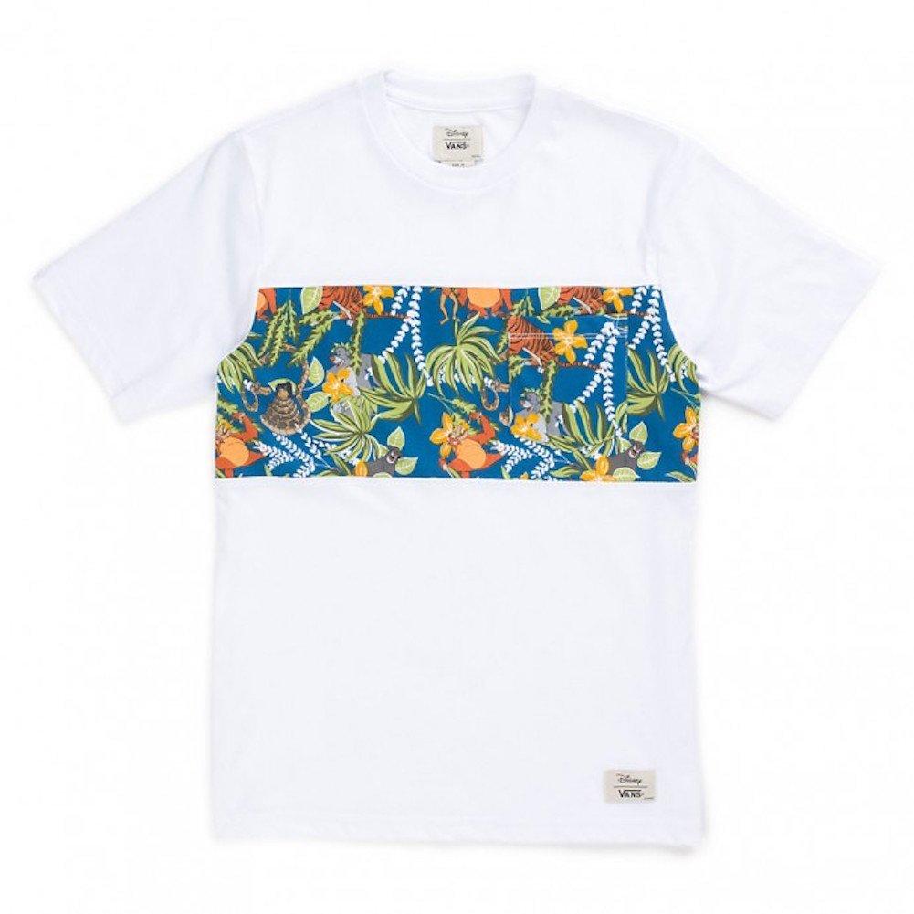 37ee30081d Amazon.com  Vans Boys Disney Jungle Book Character Graphic White T-Shirt  (Large)  Clothing