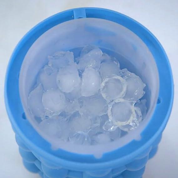 Ice Genie - Máquina para hacer cubitos de hielo de doble uso, revolucionaria, ahorra espacio: Amazon.es: Hogar