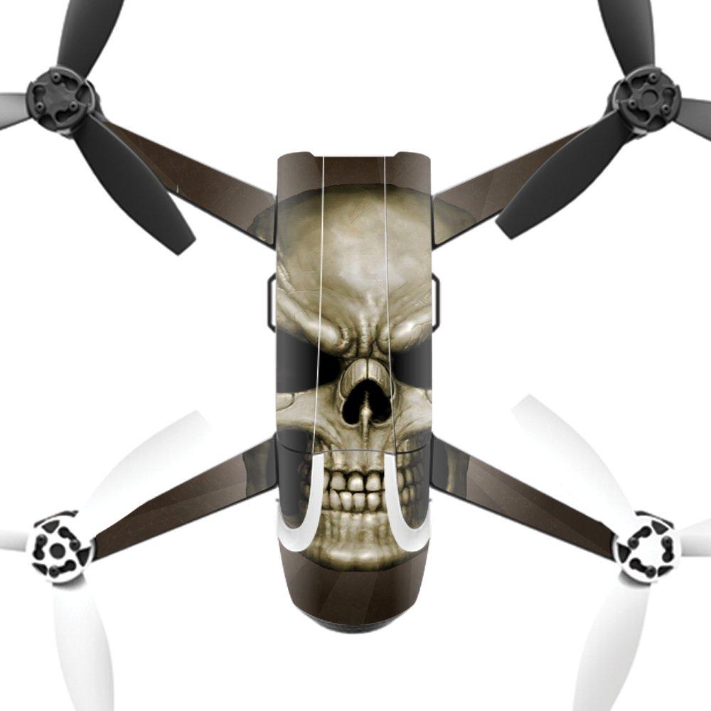 MightySkins スキンデカールラップ オウムステッカー保護カバー 100色展開 Parrot Bebop 2 PABEBOP2-Skeletor Parrot Bebop 2 Skeletor B01N7HF6JQ