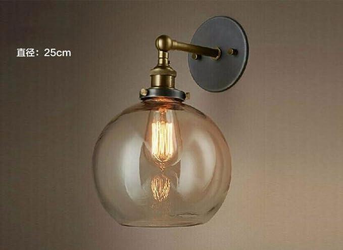 Olqmy lampade da comodini camera da letto vintage industriale
