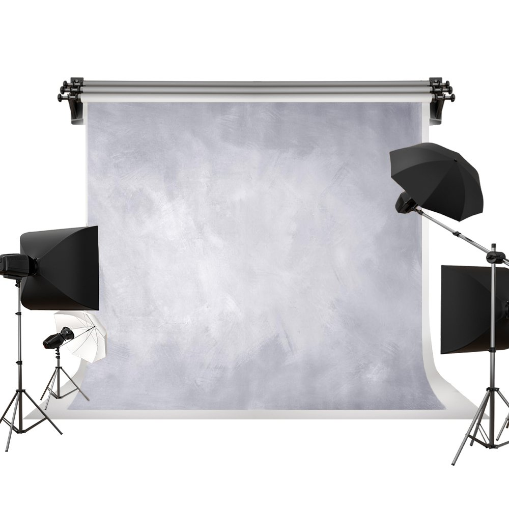 Kate 10x10ft/3x3m(W:3m H:3m) Photo Backdrops Photographers Retro Solid Light Grey Background Photography Props Studio Digital Printed Backdrop