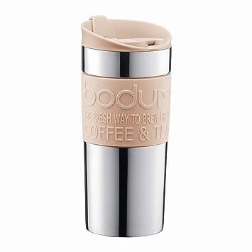Bodum Travel Mug 0.35 L Vacuum Pale Pebble Great Present Stainless Steel