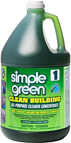 Simple Green Clean Building All-Purpose Cleaner Concentrate, 1gal Bottle