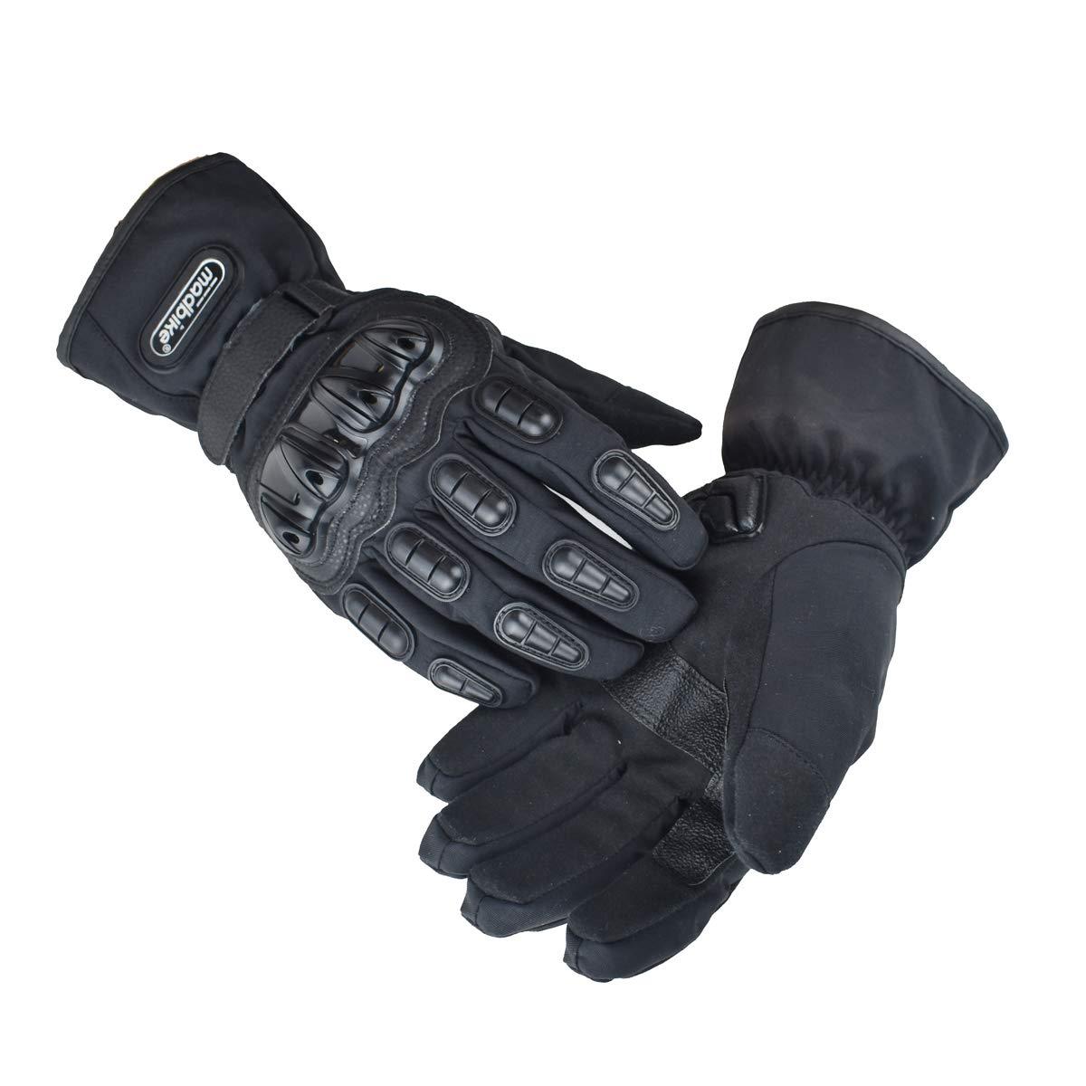 madbike motorcycle gloves waterproof moto gloves motorcycle winter black-M