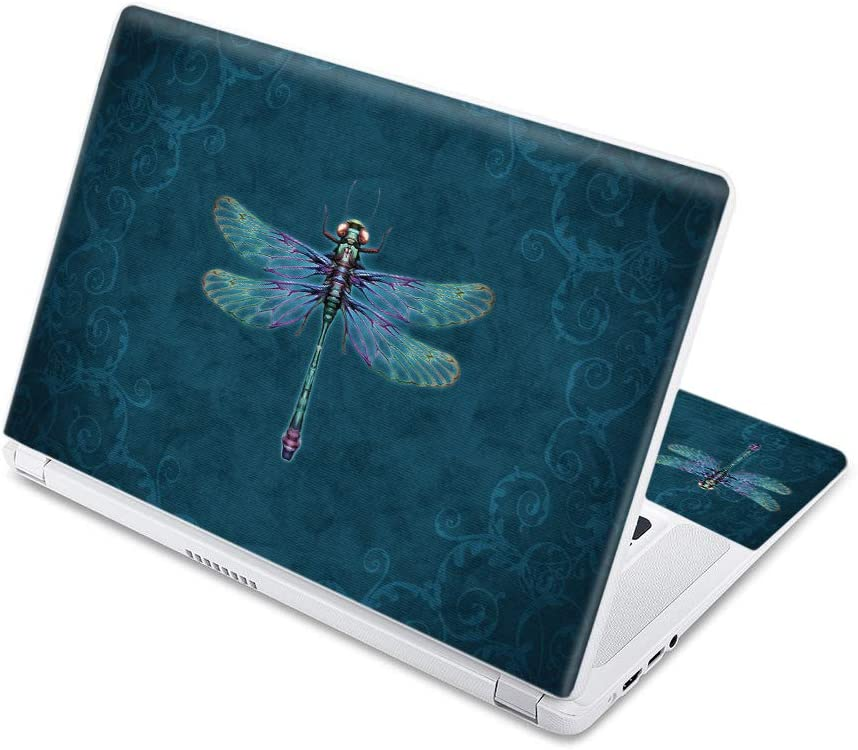 "MightySkins Skin Compatible with Acer Chromebook 15 15.6"" (2017) - Vibrant Dragonfly 