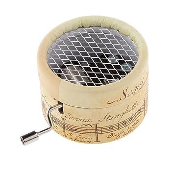 Manivela Lago Juego De Cajas De Cartón Caja De Música Melodía Reloj Regalo De Los Cabritos Cisne: Amazon.es: Juguetes y juegos