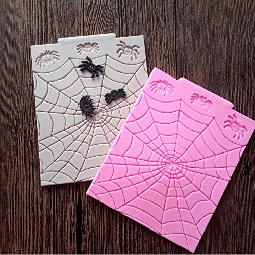 Halloween Spider Web Silicone Mold Mould 3D Molds