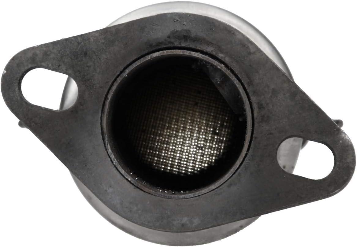 ECD Germany Kat-244 Katalysator Kat Auspuff Abgasanlage inkl mm : 470 Montagesatz L/änge