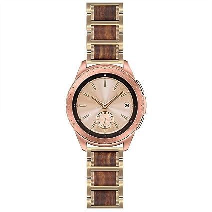 Amazon.com: LDFAS - Correa de reloj compatible con Samsung ...