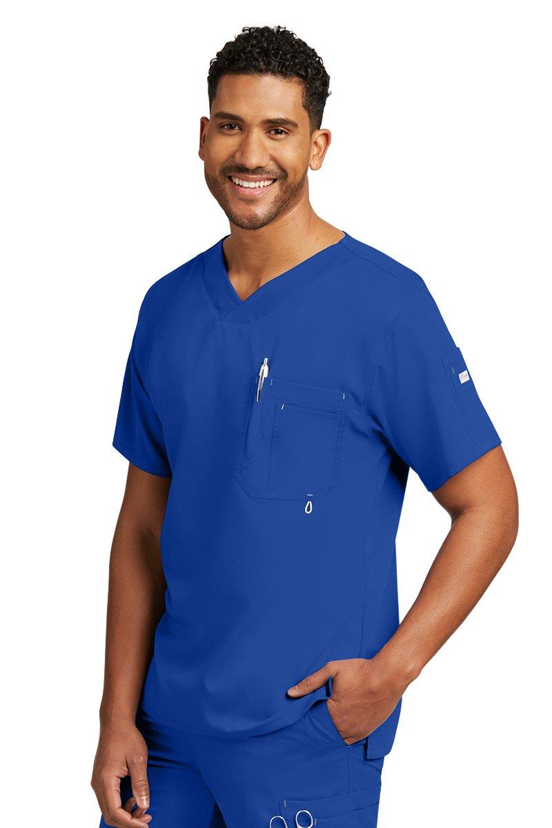 Grey's Anatomy 0107 Men's Modern Fit Top Galaxy 2XL