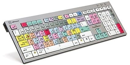Logickeyboard Designed for Adobe Photoshop CC - PC Slim Line Keyboard-  Windows 7-10 Part: LKBU-PHOTOCC-AJPU-US