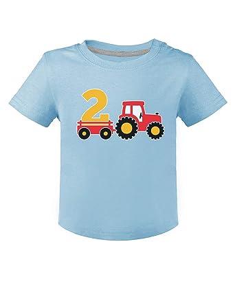 28a41d399 Green Turtle T-Shirts Camiseta para niños - Regalo Original de cumpleaños  para niños y niñas de 2 años  Amazon.es  Ropa y accesorios