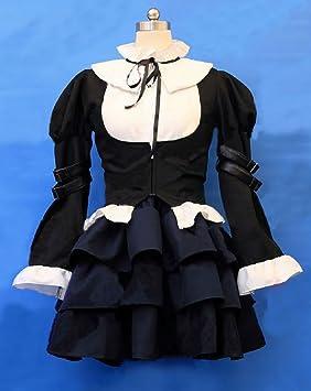 Mxnpolar Fairy Tail Erza Scarlet Lolita Maid vestido a ...