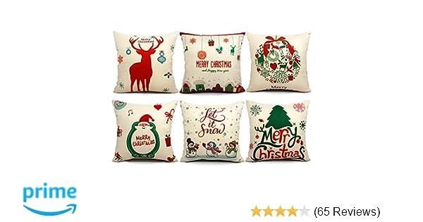 Amazon 40 Packs Christmas Pillows Covers 40 X 40 Christmas Beauteous Decorative Pillow Sets Clearance