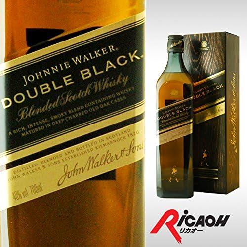 JOHNNIE WALKER [箱入] ダブルブラック 40度 700ml ウイスキー 12本