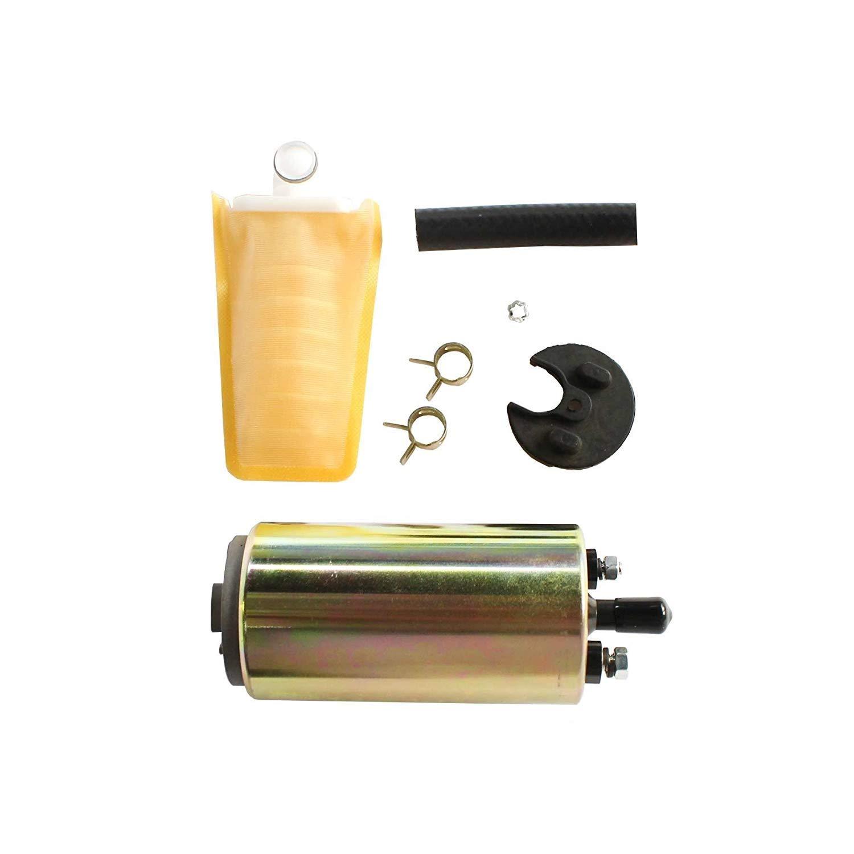 CUSTONEPARTS 1pc New Electric Fuel Pump /& Install Kit Fit Multiple Models E8235 FE0231