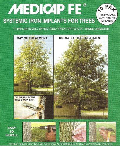 Medicap FE FE1210 Systemic Iron Tree Implant, Pack of 10 ()