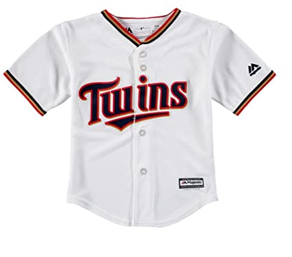 7f91a3e94f9 Majestic Athletic Minnesota Twins Home Cool Base Infant and Toddler Jersey  (5/6)