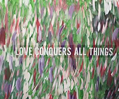 abstract-painting-love-conquers-all-things-quote