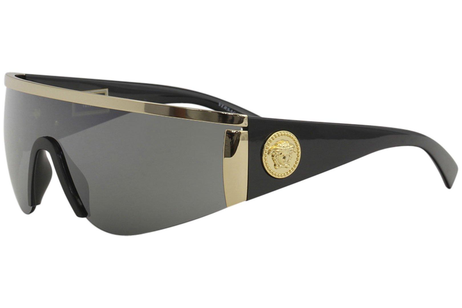 6665c2de8166f Versace Sunglasses Gold Silver Metal - Non-Polarized - 40mm