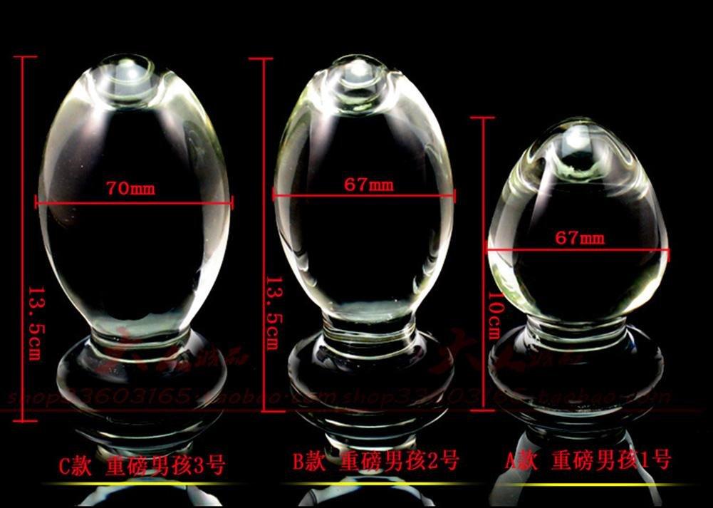 Juguetes adultos vidrio Huevos de ganso 67 mm Masturbación Diversión estimular Hielo Fuego estimular Diversión parejas Sexo placer Suministros eróticos , C b6b4a9