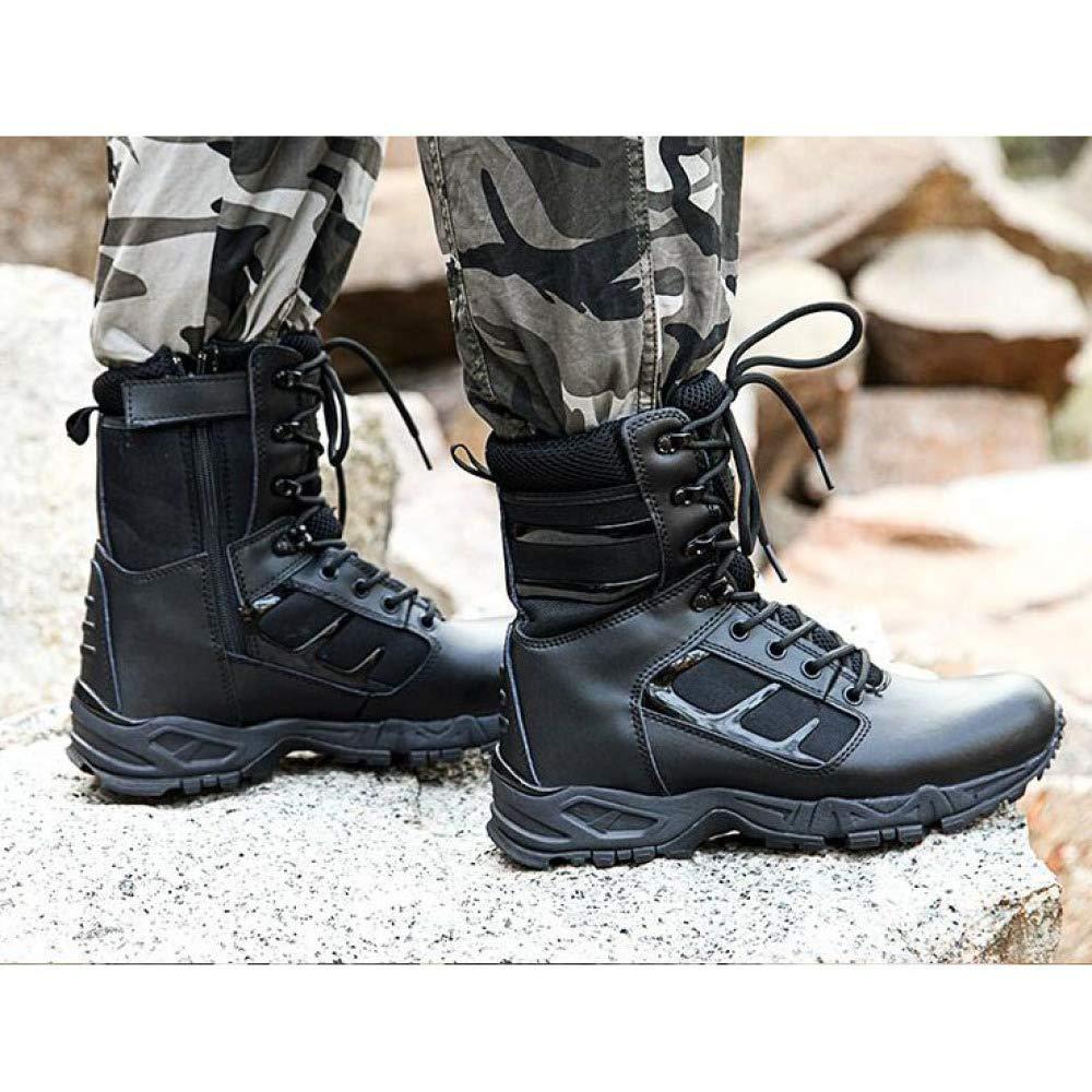 MYXUA Herrenstiefel Militärische Militärische Militärische Taktische Stiefel Wasserdichte Wanderkampfstiefel Desert Army Stiefel 025eca