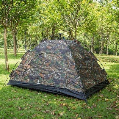 ZHUDJ Outdoor Camouflage Zelt, Doppelzimmer Single Regendicht Windschutz, Outdoor Camping Zelt, Camouflage