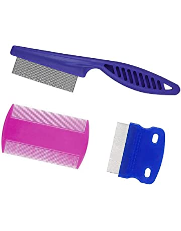 Happaiersouty Creative Portable Pet Dog Cat Comb Wood Handle Hair Trimmer Dog Grooming Cleaning Brush