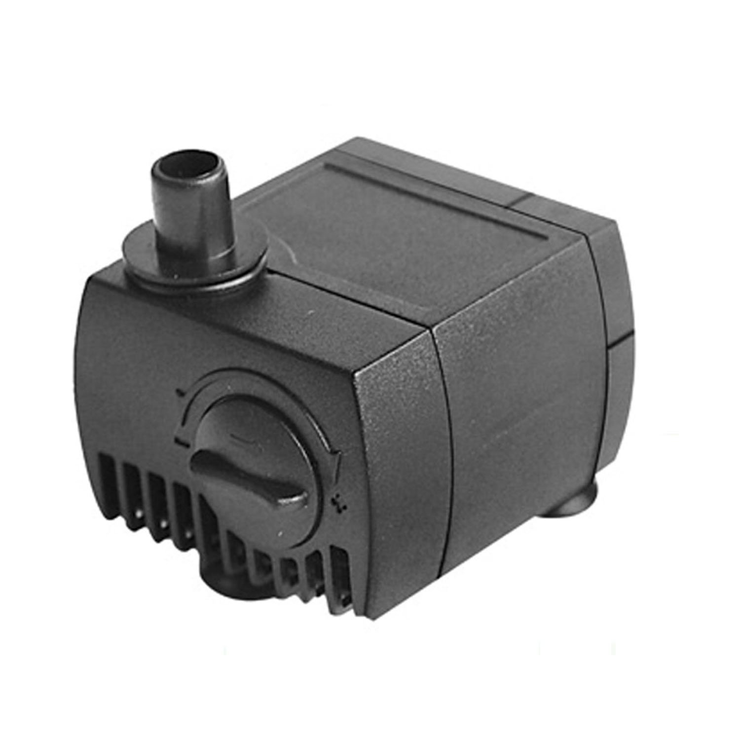 80 GPH (300L/H) Submersible Water Pump For Pond, Aquarium, Fish Tank Fountain Water Pump Hydroponics with 4.9ft (1.5m) Power Cord