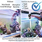 """SunGrow Squirt Feeder, 17.7"""" Coral Feeder with"""