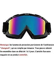 Sijueam Lunettes de Protection de Yeux Visage Masque pour Sport de Plein air  Anti-UV e59971fa7f55