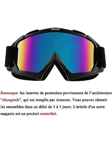 5fad0582dc447 Sijueam Lunettes de Protection de Yeux Visage Masque pour Sport de Plein  air Anti-UV
