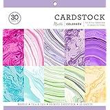 ColorBok 71876A Cartulina de Colores Brillantes con Lunares, 30.5x 30.5cm