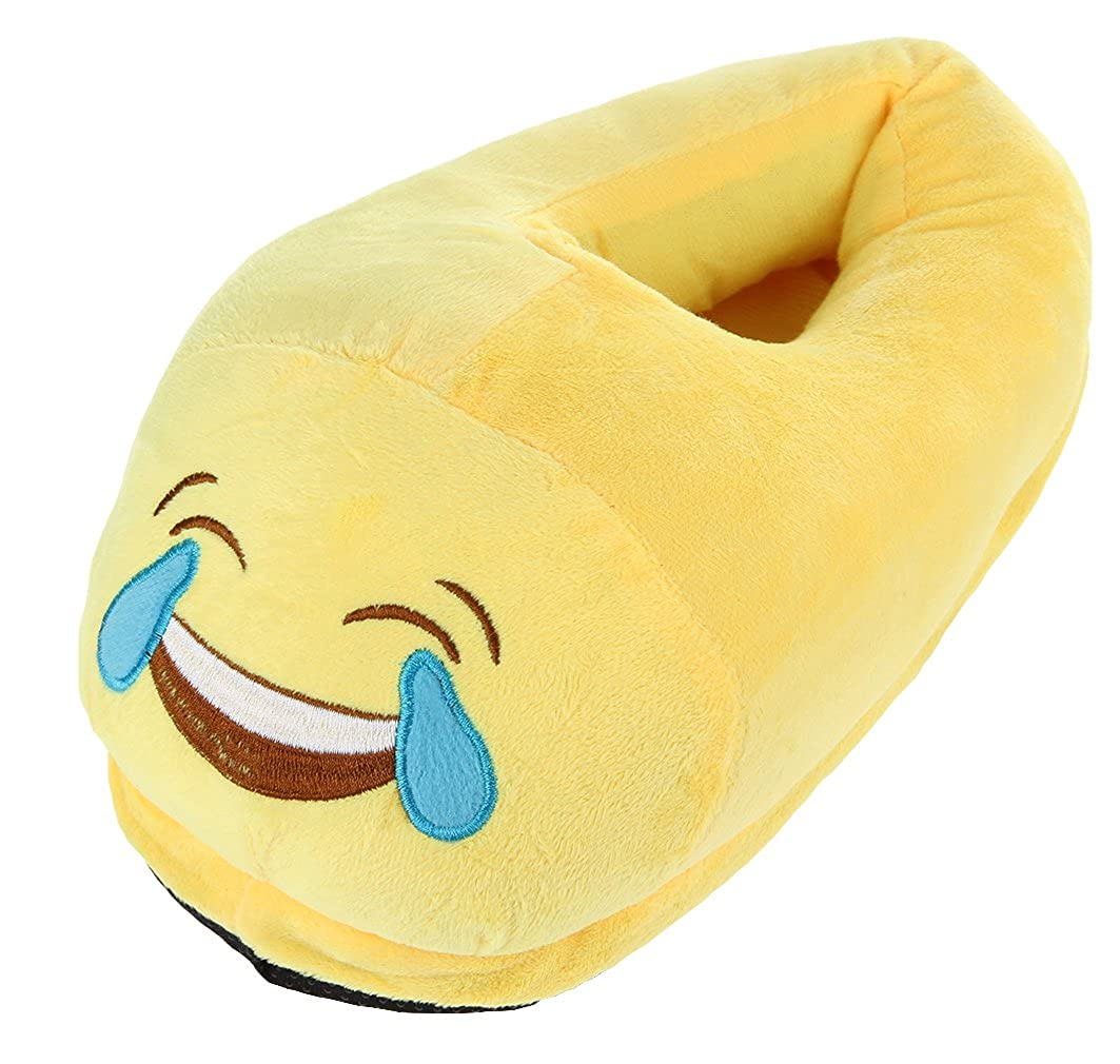 EOZY Emoji Divertente Scarpe Morbide Invernale Donna Pantofole Uomo Casa  Colore G