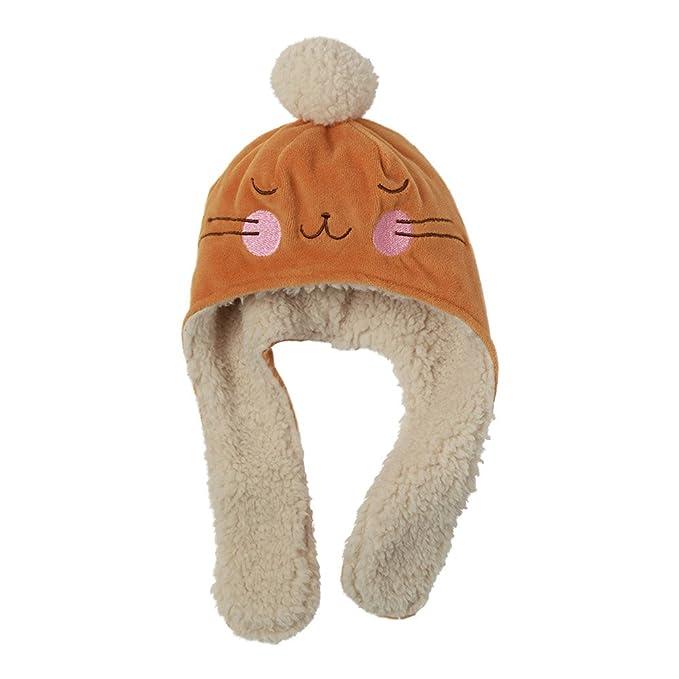 fe07d40f90307 Amazon.com  Zutano Baby Girls  Velour Bunny Hat  Clothing