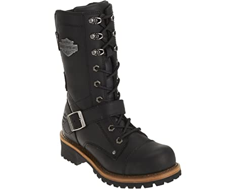 1b3a52b4e80 Harley-Davidson Women's Performance Albara BLK Leather Motorcycle Boots.  D87066