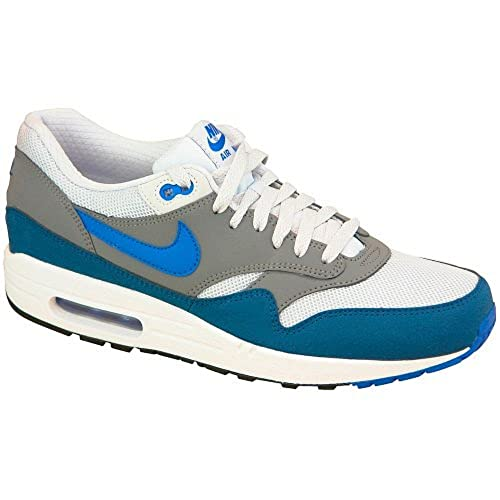 Nike Air Max 1 Essential, Blue 537383 040 Herren niedrig