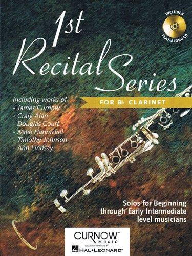 First Recital Series: Clarinet (1st Recital) PDF ePub book